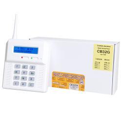 CB32GN - centrala z wbudowanym modułem GSM.