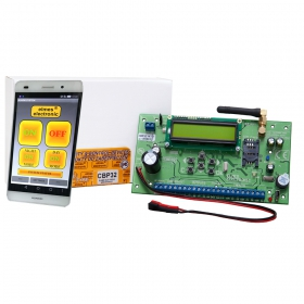 CBP32 - przewodowo - bezprzewodowa centrala alarmowa (obsługa przez aplikację)
